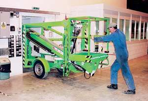 Nifty 120T Trailer Mounted Cherry Picker