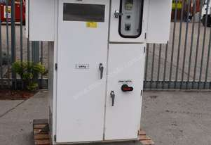 Large mine spec electrical cabinet with 11KW ABB