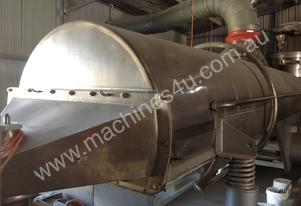 Stainless Steel Rotating Drum Roaster/ Dryer and C