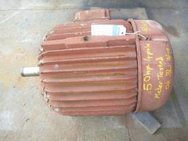 POPE 50HP 3 PHASE ELECTRIC MOTOR/ 1475RPM - picture1' - Click to enlarge