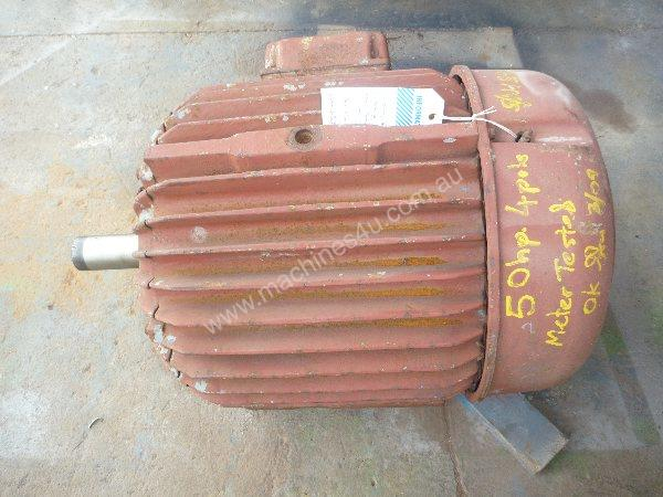 POPE 50HP 3 PHASE ELECTRIC MOTOR/ 1475RPM