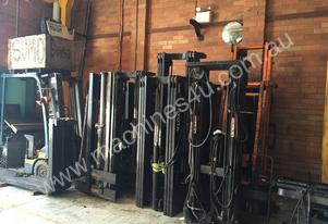 2/3 Stage Forklift /Tractor Mast Complete kit
