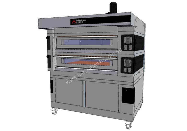 Moretti COMP S100E/2/L Double Deck Electric Deck Oven with Prover