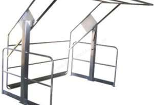Double Acting Pallet Gate Stainless Steel