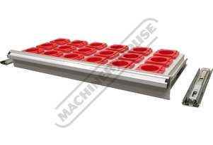SCD-50H Drawer with NT50/BT50 Plastic Holders 100mm Deep Drawer, 75kg Capacity Suits T762 & T774