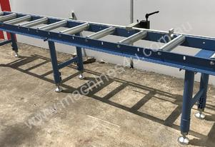 Steelmaster Gravity Roller Conveyor Kit,
