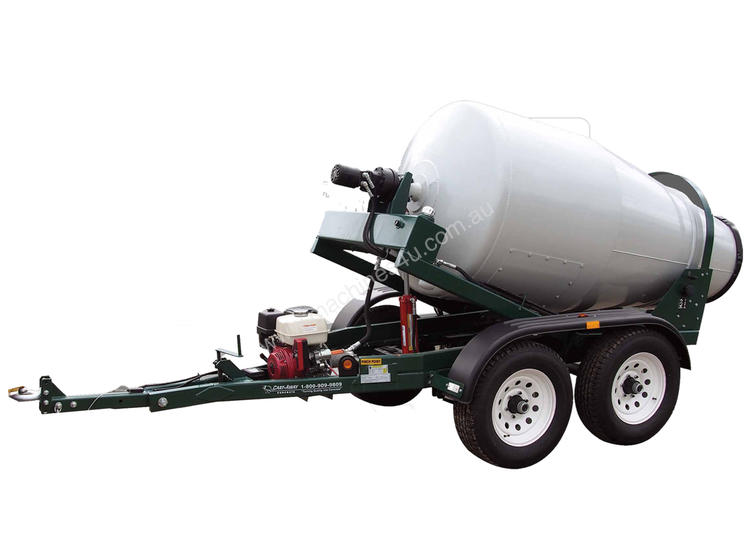 Used Cart Away Cmt 175 Portable Concrete Mixer In