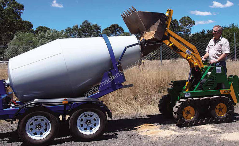 Mini Travel Trailers >> Used cart-away CMT-175 Portable Concrete Mixer in ...