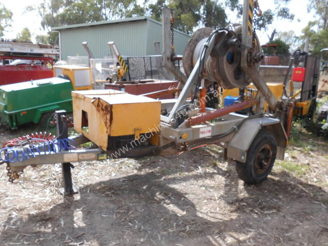 3ton self loader , with drum drive ,
