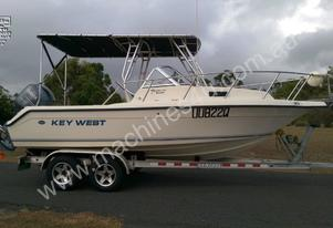 Key West 2020WA Walkaround Power Boat, Call EMUS..