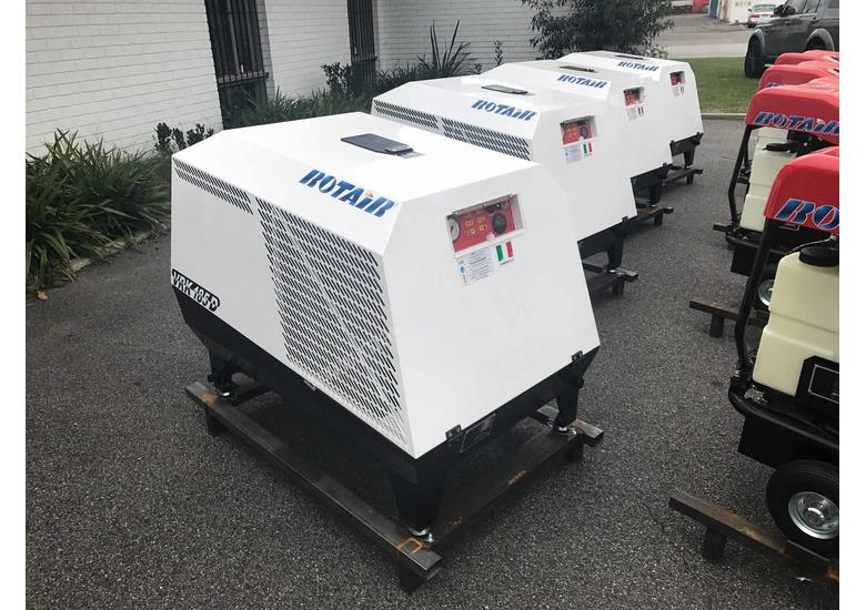 Portable Screw Compressor 25HP 64CFM