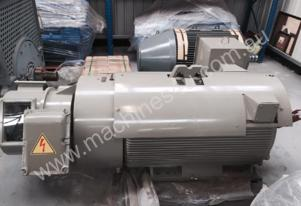 160kw 8 Pole 415v Slip Ring Toshiba Electric Motor
