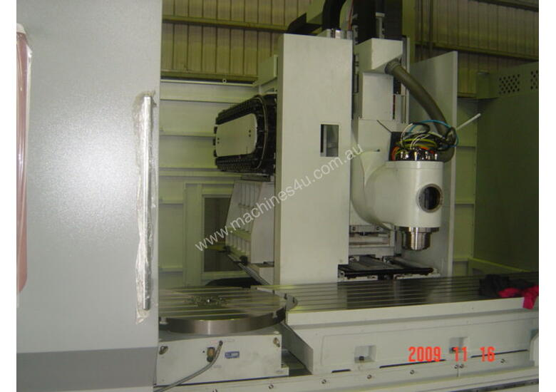 Eumach Travelling Column 3 or 5 Axis Machining Centre