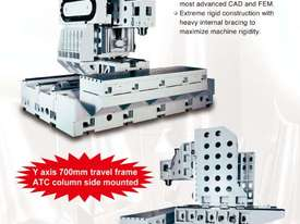 Eumach Travelling Column 3 or 5 Axis Machining Centre - picture9' - Click to enlarge