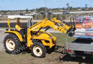 East Wind DFS754 - 75HP Utility Tractor with 4 in 1 loader