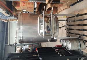 600L mash tank in excellent condition