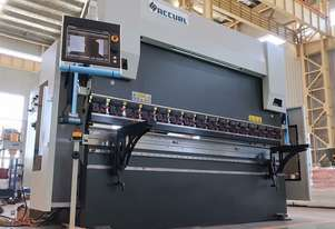 ACCURL 5 Axis 3200mm x 135Ton CNC Pressbrake Delem DA Touch Controller & Laser Guards