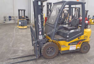 2.5t Container Forklift - Ex Demo - Price Reduced!