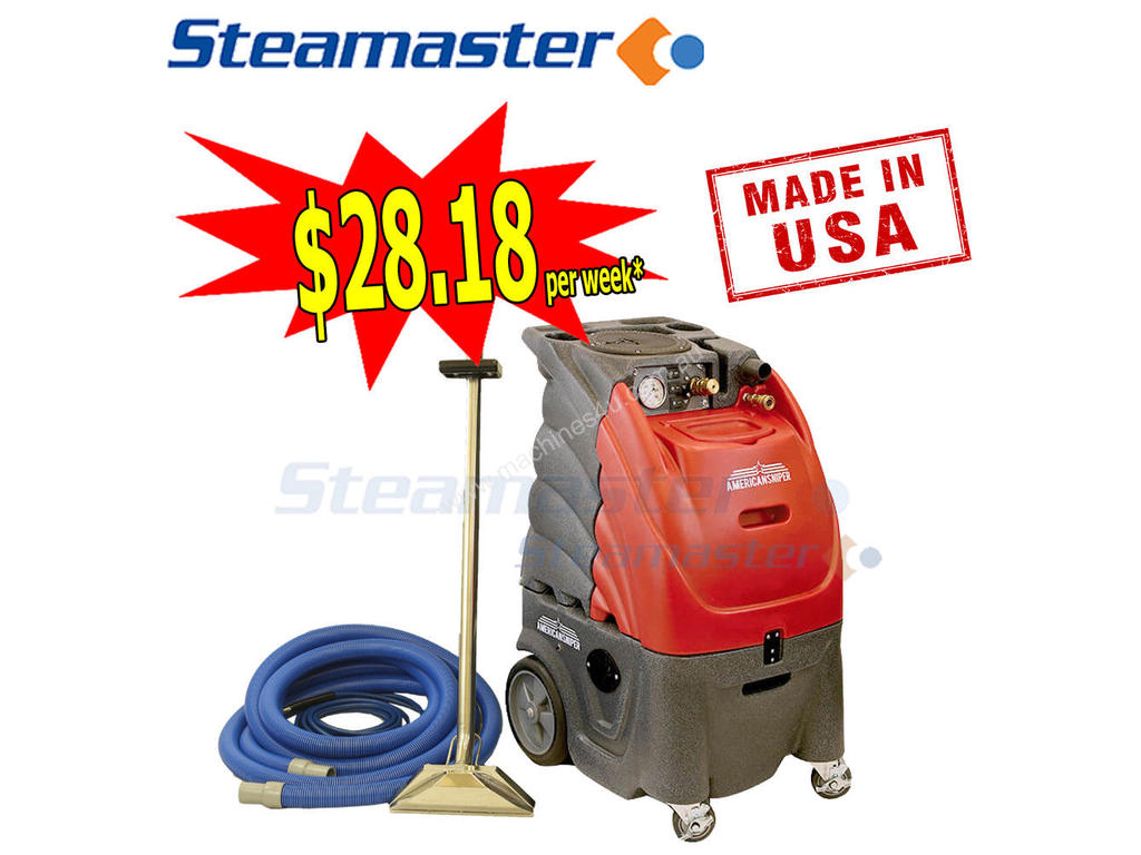 New Steamaster American Sniper 80 3500 Carpet Cleaning In Price