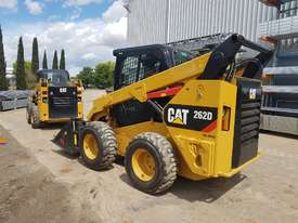 USED 2015 CAT 262D SKIDSTEER LOADER WITH LOW 1010 HOURS IN VERY GOOD CONDITION - picture3' - Click to enlarge