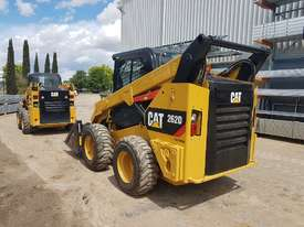 USED 2015 CAT 262D SKIDSTEER LOADER WITH LOW 1010 HOURS IN VERY GOOD CONDITION - picture4' - Click to enlarge