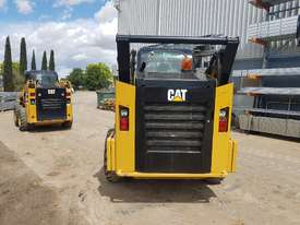 USED 2015 CAT 262D SKIDSTEER LOADER WITH LOW 1010 HOURS IN VERY GOOD CONDITION - picture6' - Click to enlarge