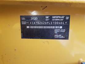USED 2015 CAT 262D SKIDSTEER LOADER WITH LOW 1010 HOURS IN VERY GOOD CONDITION - picture17' - Click to enlarge