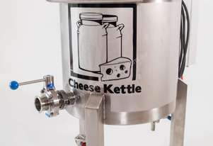 Cheese kettle / Vat cheese making and milk pasteurisation 50 LTR single phase