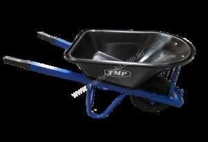 TMP EXTRA H/DUTY POLY TRAY F/F WIDE WHEEL BARROW LONG HANDLE