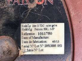 Safety Line Miller Falcon SRL MP Retractable Fall Restraint Lifeline 20 mtr - picture0' - Click to enlarge