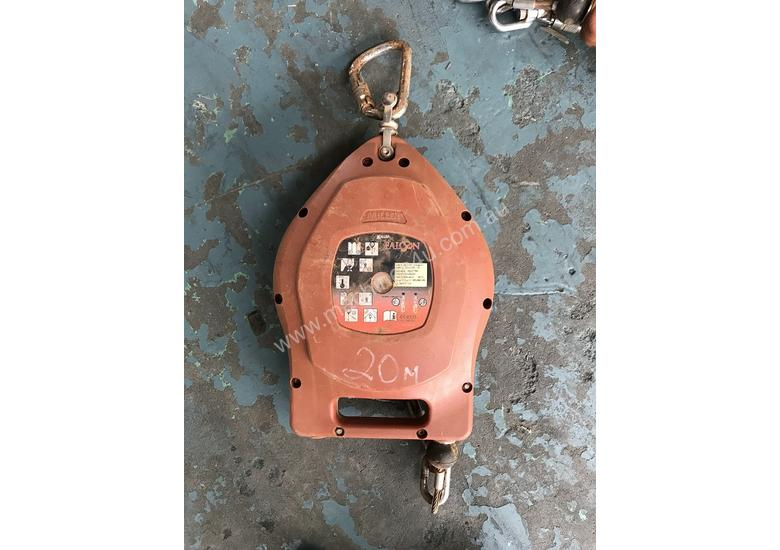 Safety Line Miller Falcon SRL MP Retractable Fall Restraint Lifeline 20 mtr