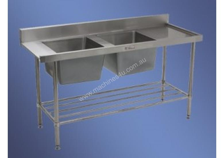 SIMPLY STAINLESS Double Sink Stainless Steel Dishw