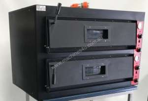 EX-DEMO F.E.D Germany s Black Panther Double Deck Pizza Deck Oven