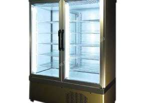 Tekna 7100 NFP 2 Door Upright Display Fridge