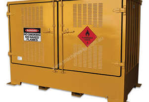 2,000 Litre Outdoor Dangerous Goods Store. Made in Australia to Australian Standards