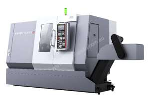 German Designed Slat Bed CNC Lathe T2CM/500 with C-axis