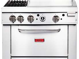 Thor GE543-P - Gas Oven Ranges with 2 Burners & 600mm Griddle LPG - picture0' - Click to enlarge