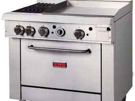 Thor GE543-P - Gas Oven Ranges with 2 Burners & 600mm Griddle LPG - picture2' - Click to enlarge