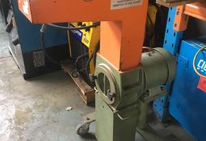 Plastic Granulator 3.0 HP Crompton Parkinson 415 Volt Electric