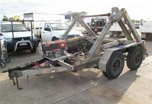 6 ton carry , self loading cable drum trailer