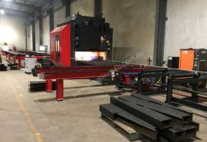 PythonX2 Robotic Structural Steel Fabrication System
