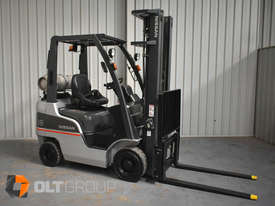 Nissan P1F1A18DU Forklift 1.8 ton LPG fork 5500mm Lift Height 3 Stage Mast - picture3' - Click to enlarge