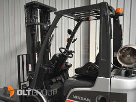 Nissan P1F1A18DU Forklift 1.8 ton LPG fork 5500mm Lift Height 3 Stage Mast - picture11' - Click to enlarge