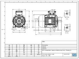 3kW 4Pole Motor - picture1' - Click to enlarge