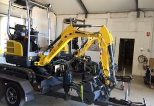 Wacker Neuson EZ17 (1.7T) Excavator and Trailer package