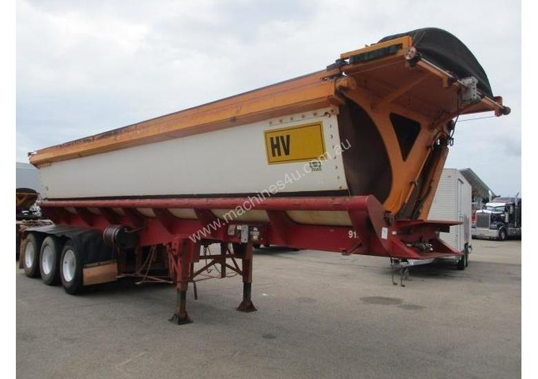 Azmeb Tri Axle Side Tipper Trailer