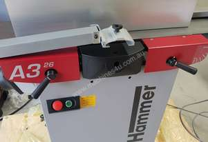Hammer A3-26 Planer and Thicknesser USED