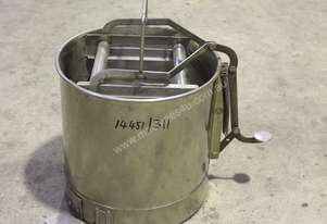 Fallsdell Machinery Stainless Steel Mop Bucket