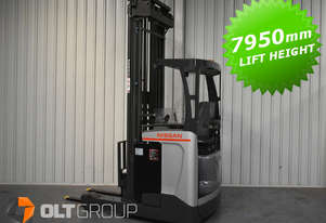 Nissan UMS 2 Tonne Warehouse Reach Truck with 7.95m Lift Height Sydney