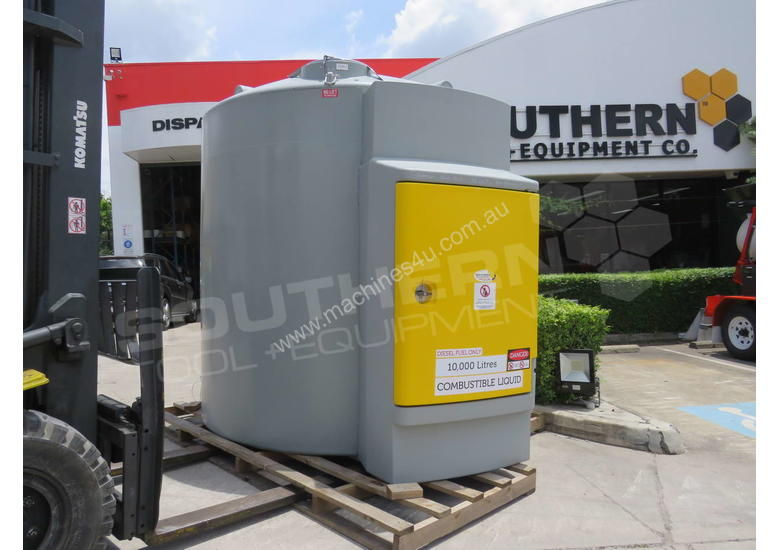 Bunded Diesel Fuel Tanks 10,000L with MC Box Fully Certified for Australia TFBUND